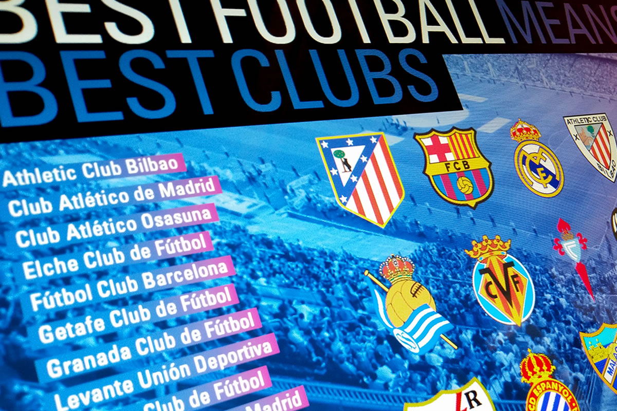 LA LIGA Spanish Futbol League